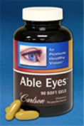 Carlson Labs Able Eyes, To Promote Healthy Vision