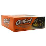 ISS Oh Yeah! High Protein Bar, Chocolate Caramel Candies, 90ml, 12 Count