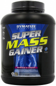 Dymatize Nutrition Super Mass Gainer, Berries & Cream, 6-Pound