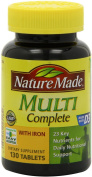 Nature Made Multi Complete with Iron, Tablets