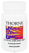 Thorne Research UltraChrome 500 (M276) - 60 Vegetarian Capsules