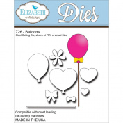 Elizabeth Craft Metal Die-Balloons