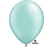 Mayflower Balloons 6528 13cm Pearl Mint Green Latex Pack Of 100