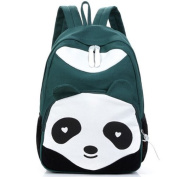 Cute Panda Cartoon Student School Backpack Knapsack Rucksack Canvas HandBag