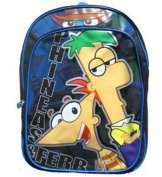 Phineas and Ferb Backpack - Large Size School Backpack