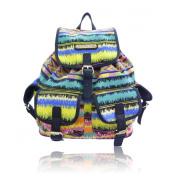 New!!! Anna Smith (By LYDC) Designer Retro Aztec Stripe Backpack/Rucksack/School Bag
