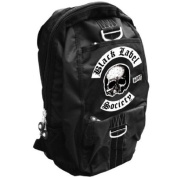 Official Back Pack Rucksack Bag BLACK LABEL SOCIETY School Skull Logo
