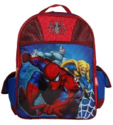 Marvel Spiderman Large 38cm School Backpack Featuring the Rhino and Goblin [Toy]