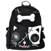 Banned Cat Bone Backpack With Speakers