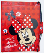 Disney Minnie Mouse Swim Bag - Gorgeous Red Polka Dot Swim Bag / Trainer School Bag