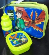 Disney Ben 10 Alien Children's Lunch Bag Set - Bag Lunch Box Sports Bottle