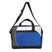 New Messenger / Shoulder School & College Bag with a Two Tone Design
