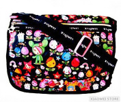 XIAOMEI Colourful Cartoon Children's Messenger Style Bag 825A for School or College