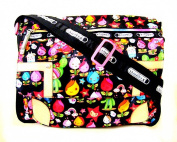 XIAOMEI Colourful Cartoon Children's A4 Messenger Style Bag A626 for School or College etc.
