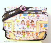 XIAOMEI Colourful Cartoon Children A4 Messenger Style Bag 626F for School or college etc.