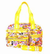 XIAOMEI Colourful Cartoon Bag 671B for Travel, Holiday, Mummy changing bag, Gym bag, School or College etc