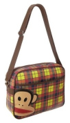 EyeCatch - Paul Frank - Julius The Monkey Unisex Retro Messenger Shoulder Bag Multi Cheque