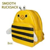 Gaorui Children Toddler Kid'S Leather School Bag Animal Fruit Cartoon Backpack 14 Styles - Bee Pattern