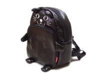 Gaorui Children Toddler Kid'S Leather Bag School Cartoon Animal Fruit Backpack Toddler Schoolbag 14 Styles_Cat Pattern