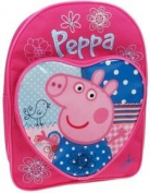 Peppa Pig Patchwork Backpack with Adjustable Backstraps