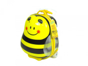 "Childs' ""Bee"" Pull along Travel case/Rucksack by LUGGO"