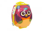 "Childs' ""Owl"" Pull along Travel case/Rucksack by LUGGO"