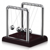 Classic Newtons Cradle Balance Balls --- Executive Educational Toy / Office Desktop Gadget / Perfect Gift