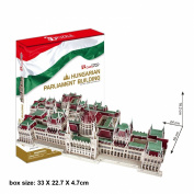 "CubicFun 3D Puzzle MC-Series ""The Hungarian Parliament Building - Budapest"""