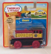 thomas and friends wooden dart toy model