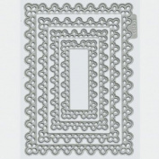 Lifestyle Crafts Nesting Doily Rectangles