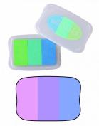 Tsukineko Brilliance Twilight 3 Colour Ink Pad