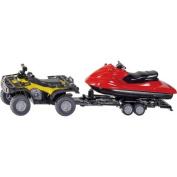 1:50 Quad With Jet Ski Model Vehicles