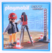 Playmobil 5473 Surveyor with equipment