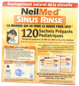 Sinus Rinse Premixed Paediatric Refill Packets - Pack of 2, Total 240 Packets