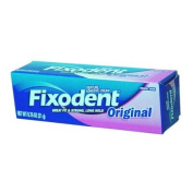 Fixodent Denture Adhesive Cream Original Strong And Hold