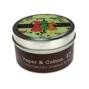 Margot Elena Tokyo Milk Paper and Cotton Crushed and Distilled Candle, Deeply Fragranced, 5ml