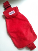 Warm Tradition Body Warmer Strap Pack Hot Water Bottle in Red - Made in Germany