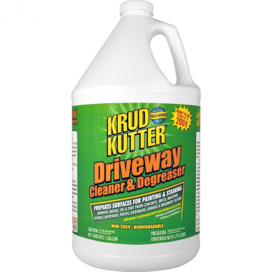 Supreme chemical krud kutter driveway cleaner degreaser for Driveway cleaning chemicals
