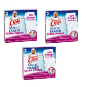 Mr. Clean Magic Eraser Extra Power Multipurpose Cleaning Pads - 3 Packs of 2