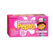 Pepto-Bismol Pepto-Bismol Children Chewable Tablets Bubble Gum Flavour