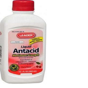 Leader Antacid Max Strength Liquid Cherry 350ml