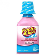 Pepto-Bismol Maximum Strength For 5 Symptoms 350ml