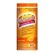 Metamucil Orange Sugar Smooth Texture Powder, 48 Count