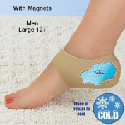 Steady Step Heel Hugger Therapeutic Heel Stabiliser With Gel And Magnets