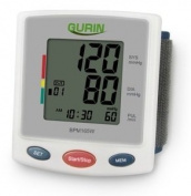 Gurin Pro Series Wrist Digital Blood pressure Monitor with Case - Large Display