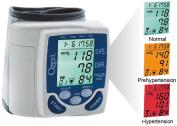 Ozeri BP2M CardioTech Premium Series Digital Blood Pressure Monitor with Hypertension Colour Alert Technology
