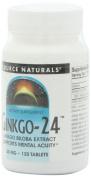 Ginkgo-24, 40 mg, 120 Tablets