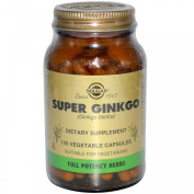 Super Ginkgo, 120 Veggie Caps
