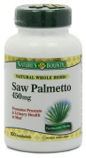 Nature's Bounty Natural Saw Palmetto 450mg