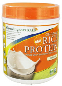 Growing Naturals Rice Protein Isolate Powder, Original, 459-Gramme